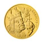 700th Anniversary of Charles IV Gold Medal 100 Ducats Charles IV - numbered UNC