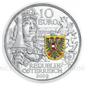 2019 - Austria 10 € Ritterlichkeit / Chivalry - Proof Click to view the picture detail.