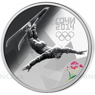 2012 - Russia 3 RUB - Sochi 2014 - Freestyle Skiing Click to view the picture detail.