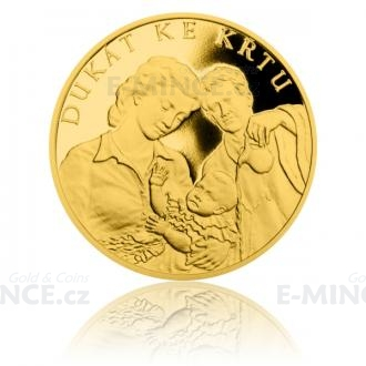 Gold Ducat Christening - Proof Click to view the picture detail.