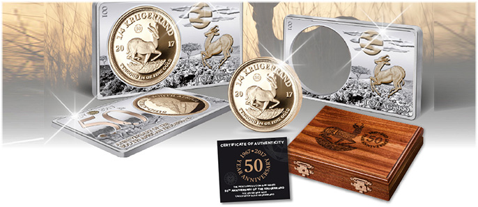 50th Anniversary of the Krugerrand