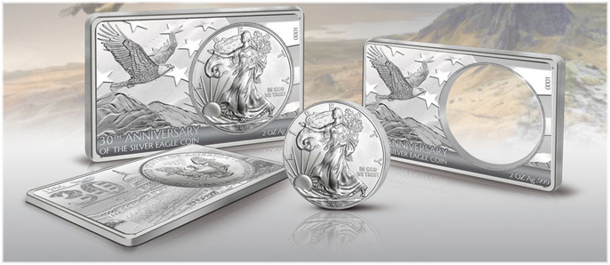 30th Anniversary of the American Silver Eagle Coin